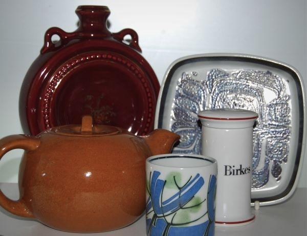 Lertøj, Porcelæn og Fajance