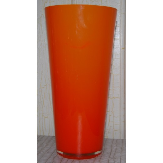 Orange glasvase