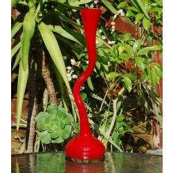 Rød - Swing vase