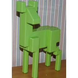 """Hjorteskulpturen """"Pixel"""""""